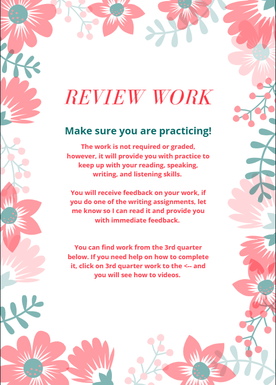 review work